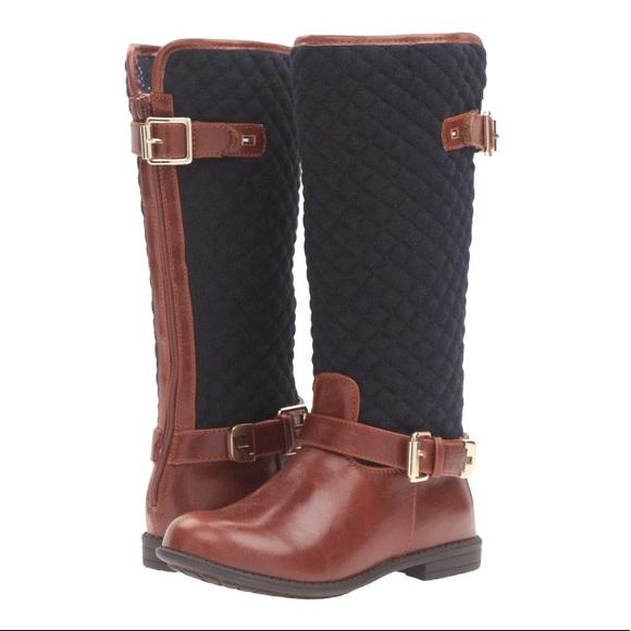 f7c5f69c6 Tommy Hilfiger Andrea Equestrian Boot - Girls sz 2.  M_5b80467c9e6b5b0bf1d619e5